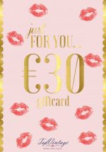 Gift card € 30