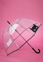 50s Black Cat Dome Umbrella