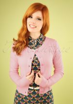 50s Dolly Cardigan in Light Pink