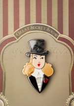 50s Lady Astaire Brooch