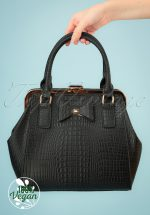40s Molly Bag in Black