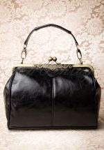 20s Vintage Frame Kisslock Clasp Bag