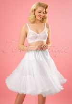 50s Lola Lifeforms Petticoat in White