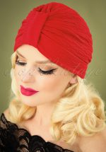 40s Chatelet Turban in Red