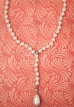 50s A String Of Pearls Necklace in Ivory