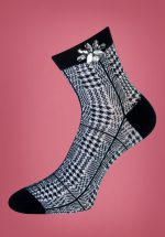 50s Christina Socks in Black