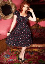 50s Mimi Shoes Love Doll Dress in Black