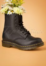 1460 Virginia Ankle Boots in Black