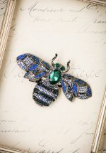 20s Ocean Bug Hair Clip and Brooch in Silver