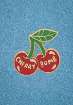 50s Cherry Bomb Enamel Pin