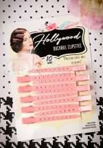 Vintage Hairstyling: Hollywood Duckbill Clipettes in Pink