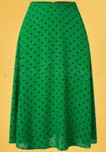 40s Juno Pablo Skirt in Very Green