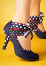 50s Aisha Pumps in Navy