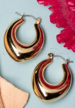 50s Fever Earrings in Gold
