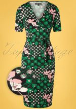 50s Anja Hollywood Dress in Black