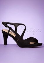 50s Suzie Sandalettes in Black